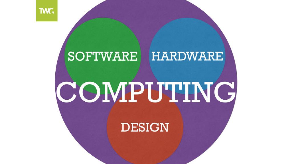 SOFTWARE HARDWARE DESIGN COMPUTING