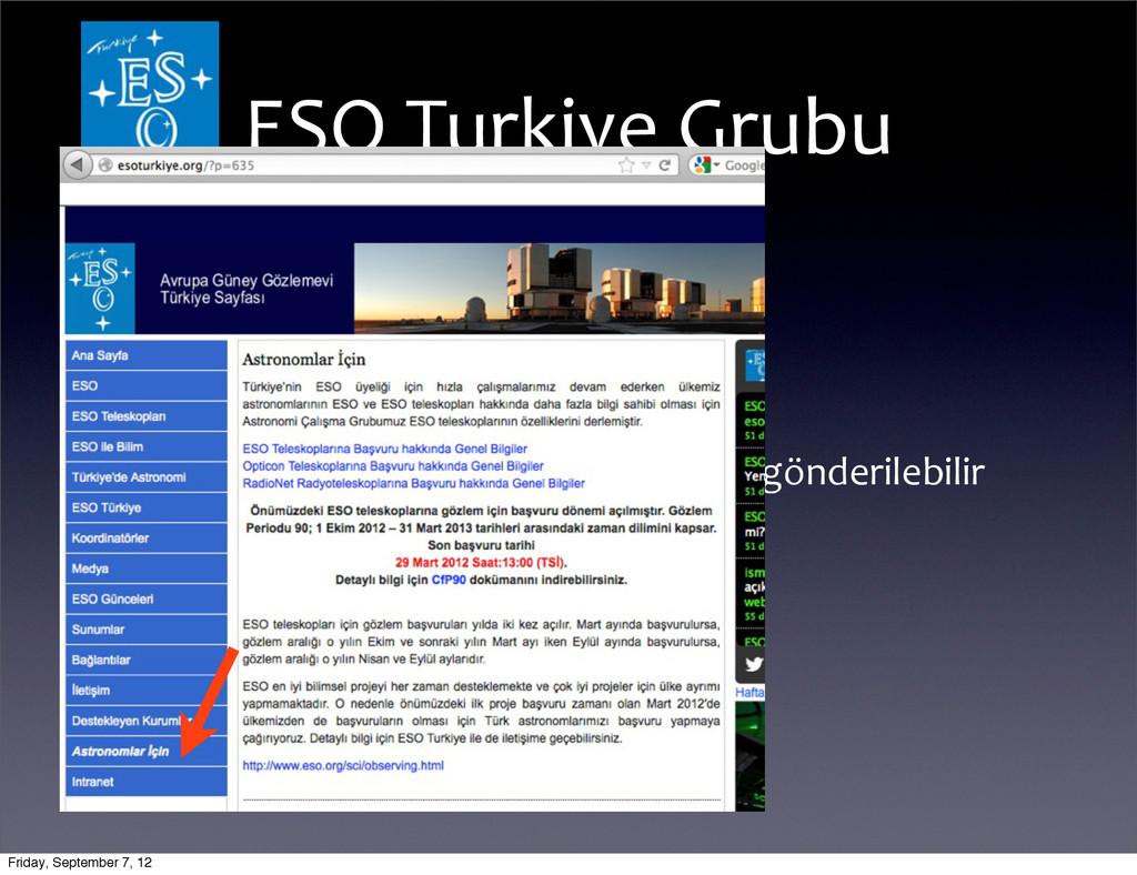 •Astronomlar İçin •ESO teleskop proje...