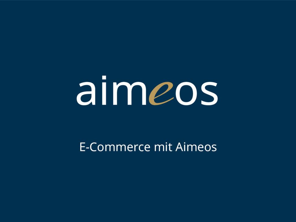 E-Commerce mit Aimeos