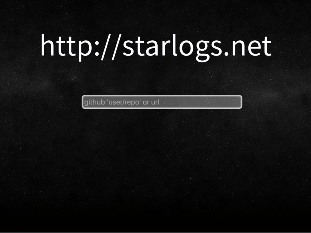 http://starlogs.net