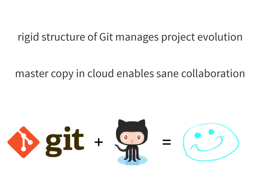 rigid structure of Git manages project evolutio...