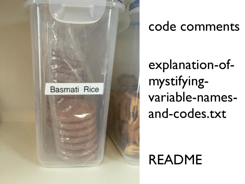 code comments README explanation-of- mystifying...