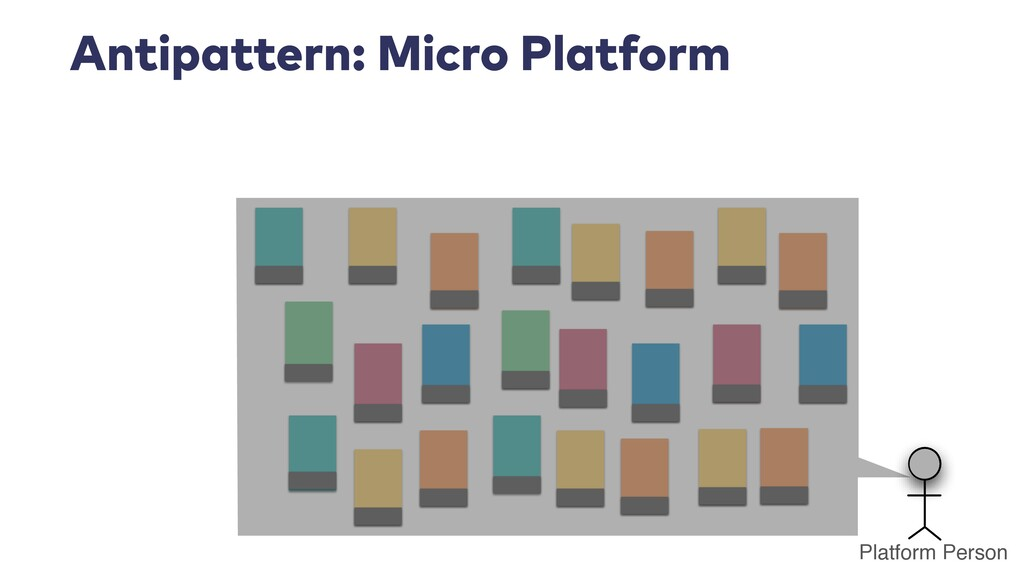 Antipattern: Micro Platform Platform Person
