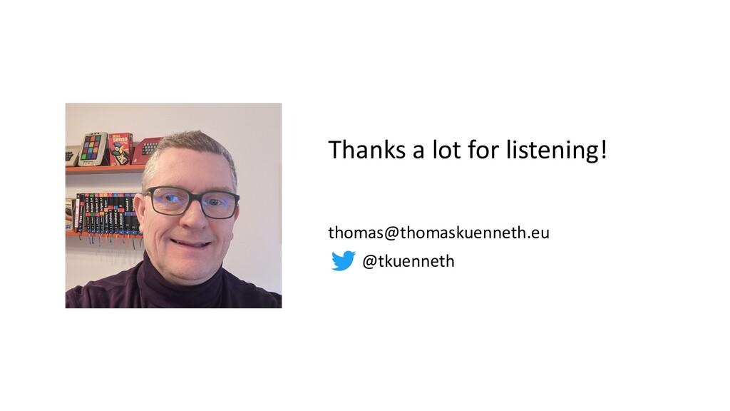 thomas@thomaskuenneth.eu @tkuenneth Thanks a lo...