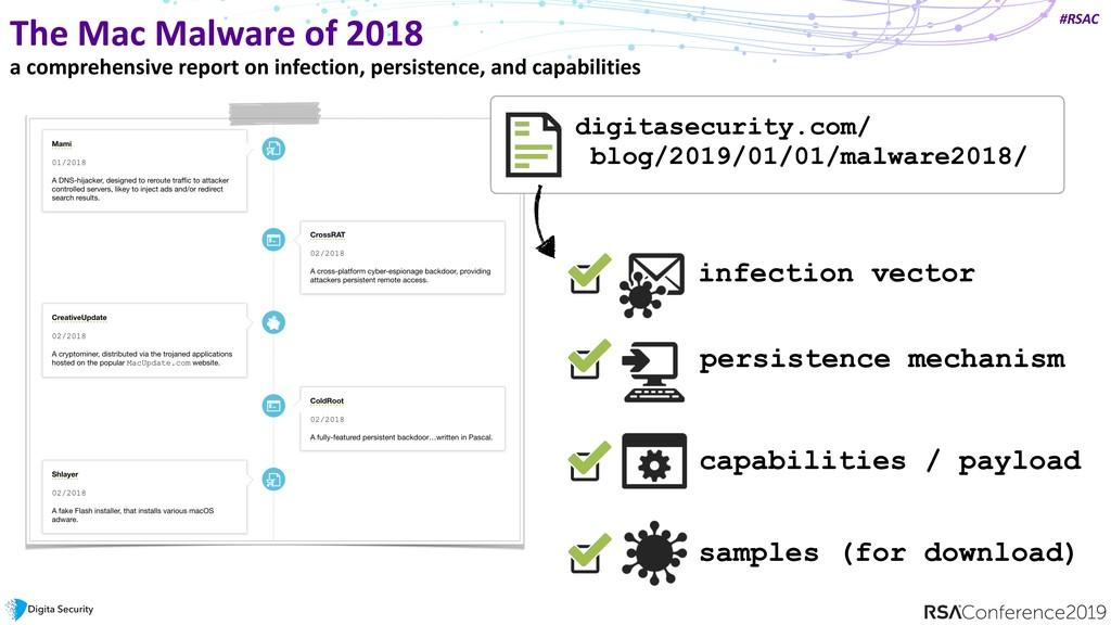 #RSAC The Mac Malware of 2018 digitasecurity.co...