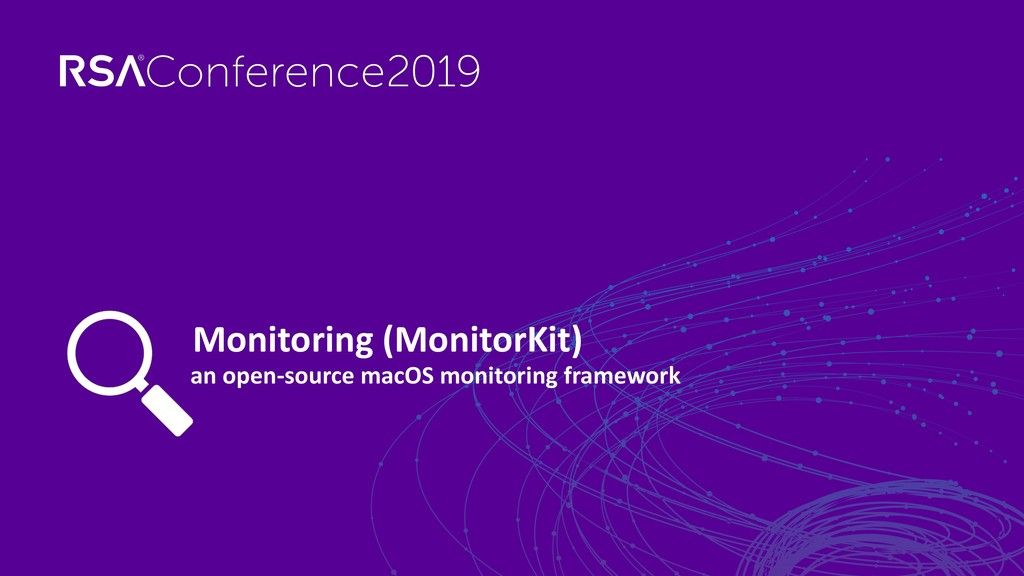 an open-source macOS monitoring framework Monit...