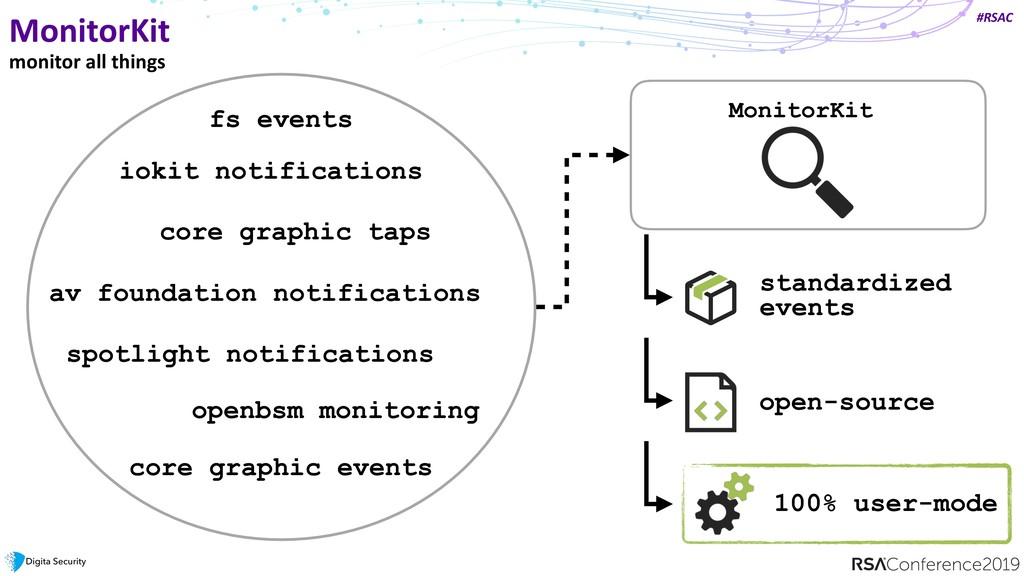 #RSAC MonitorKit monitor all things iokit notif...