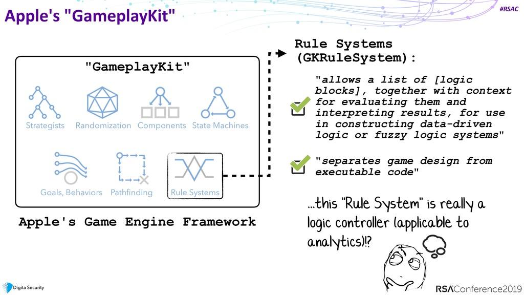 """#RSAC Apple's """"GameplayKit"""" State Machines Comp..."""