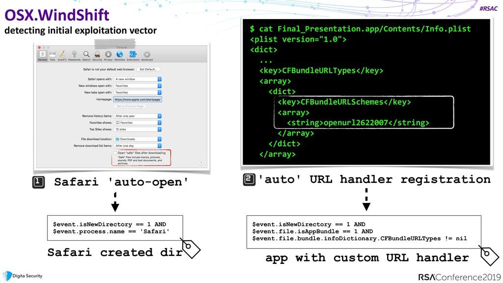 #RSAC OSX.WindShift detecting initial exploitat...
