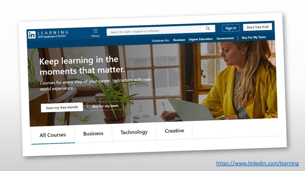 https://www.linkedin.com/learning