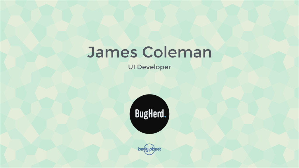 James Coleman UI Developer