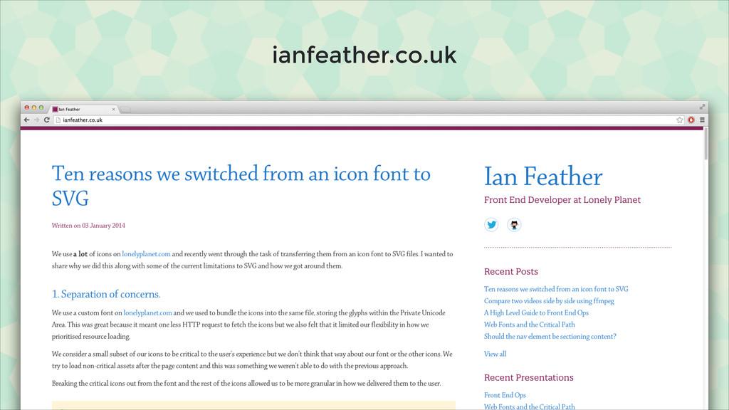 ianfeather.co.uk