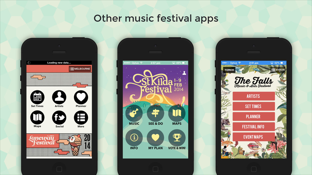 Other music festival apps