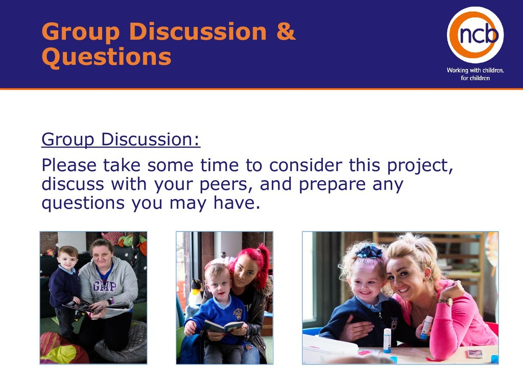 Group Discussion: Please take some time to cons...