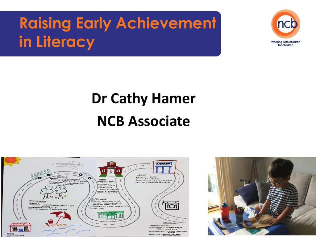 Raising Early Achievement in Literacy Dr Cathy ...