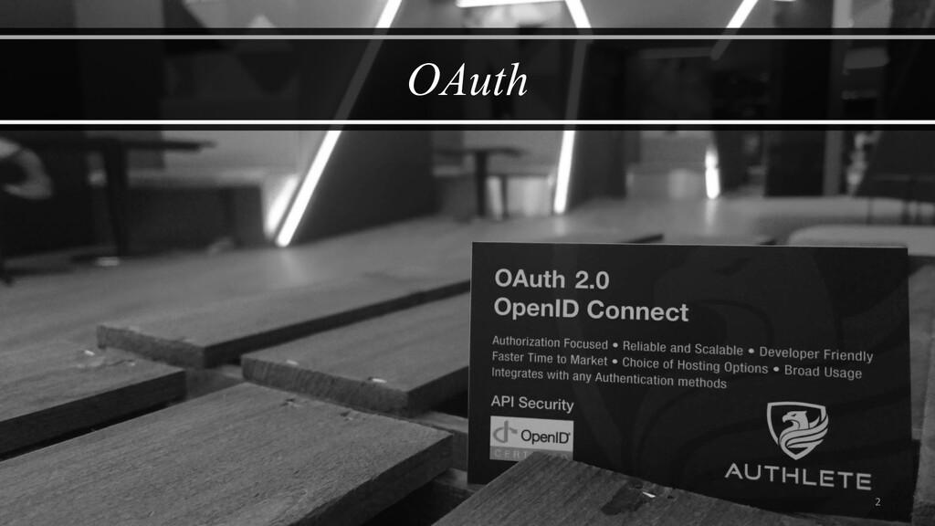 2 OAuth