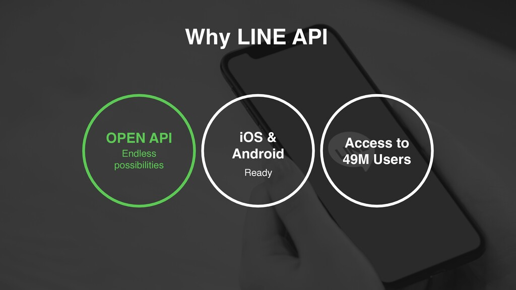 OPEN API Endless possibilities Access to 49M U...