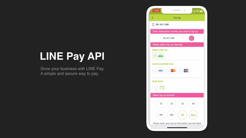 LINE Pay API Grow your business with LINE Pay ....