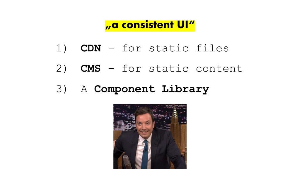 """leitner.io - @duffleit """"a consistent UI"""" 1) CDN..."""