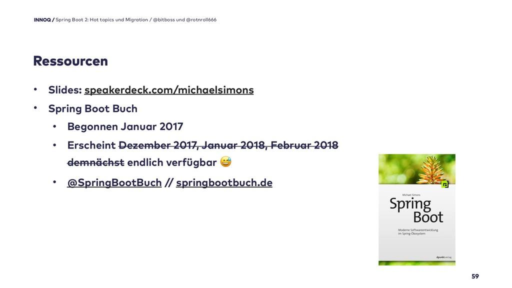 59 • Slides: speakerdeck.com/michaelsimons • Sp...