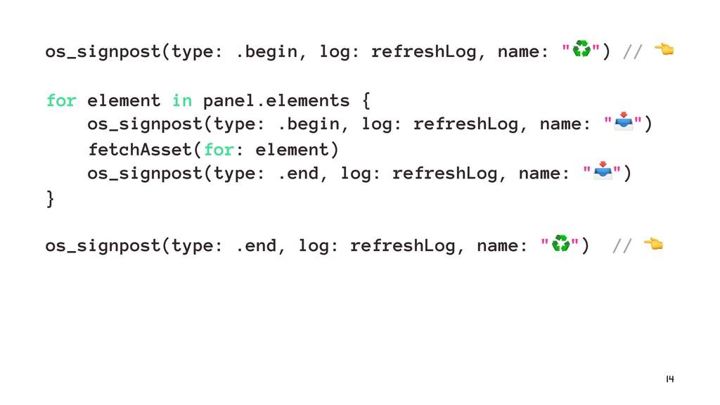 os_signpost(type: .begin, log: refreshLog, name...
