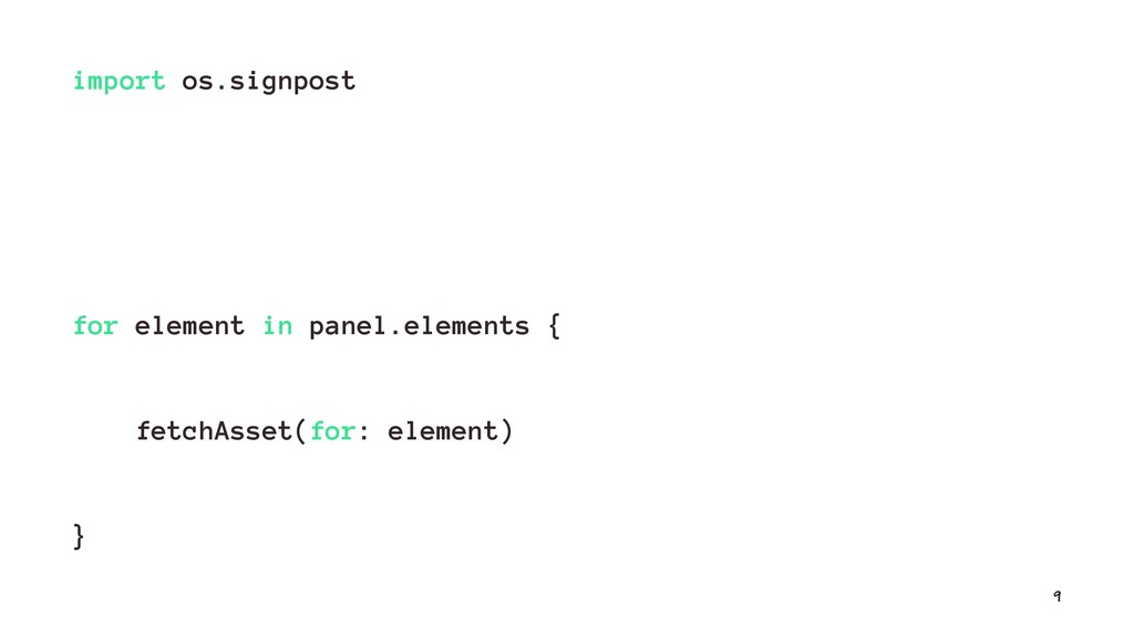 import os.signpost for element in panel.element...