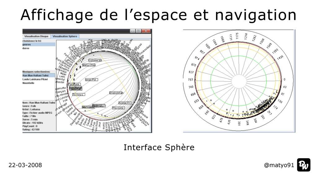 Affichage de l'espace et navigation @matyo91 22...