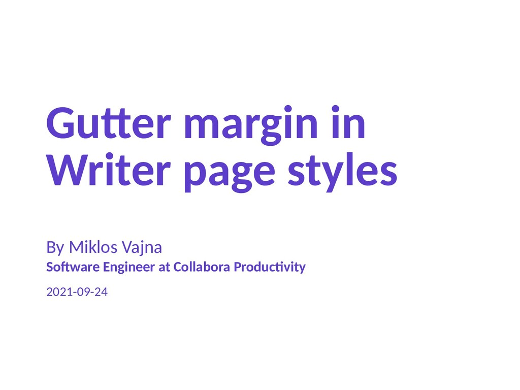 Gutter margin in Writer page styles By Miklos V...