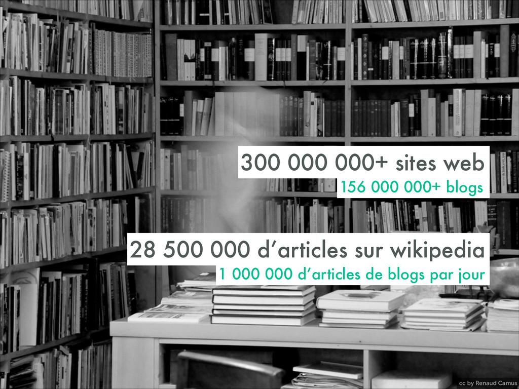 cc by Renaud Camus 300 000 000+ sites web 156 0...