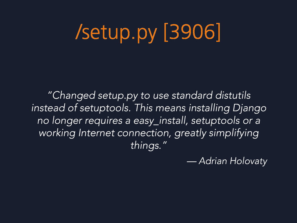 "/setup.py [3906] ""Changed setup.py to use stand..."