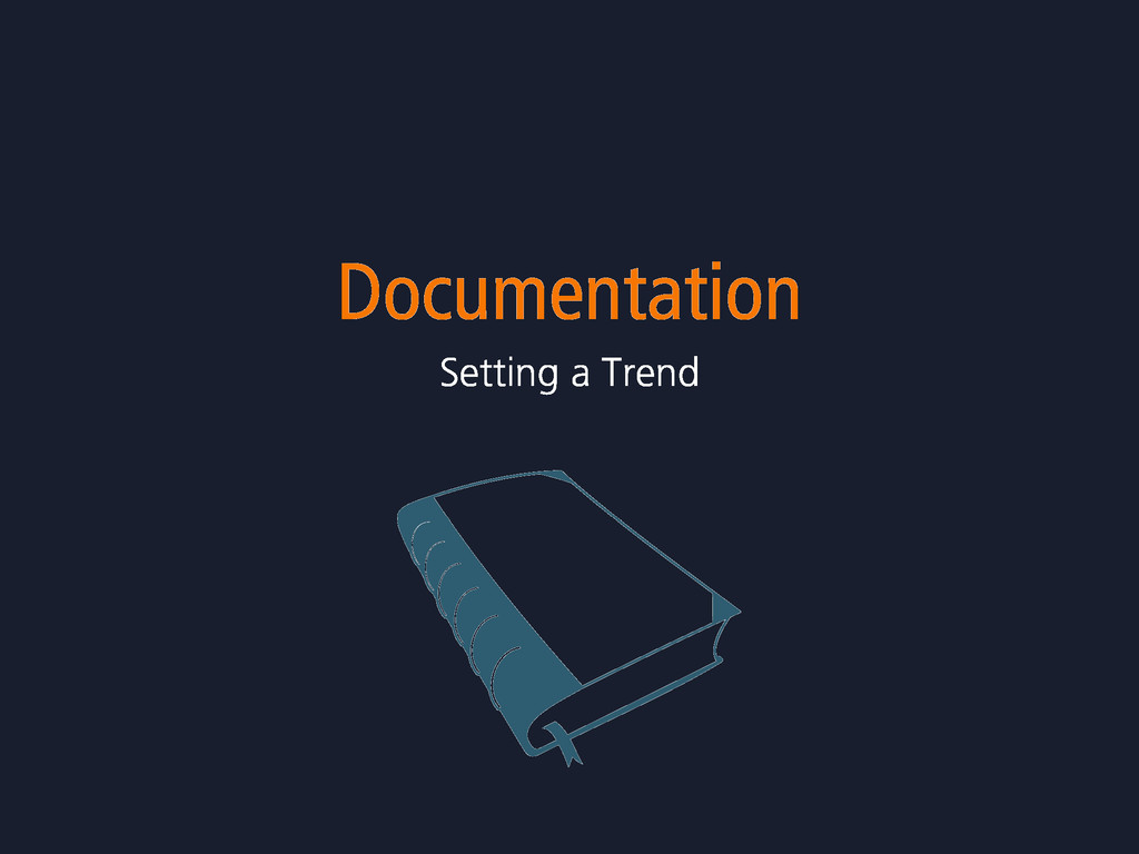 Documentation Setting a Trend