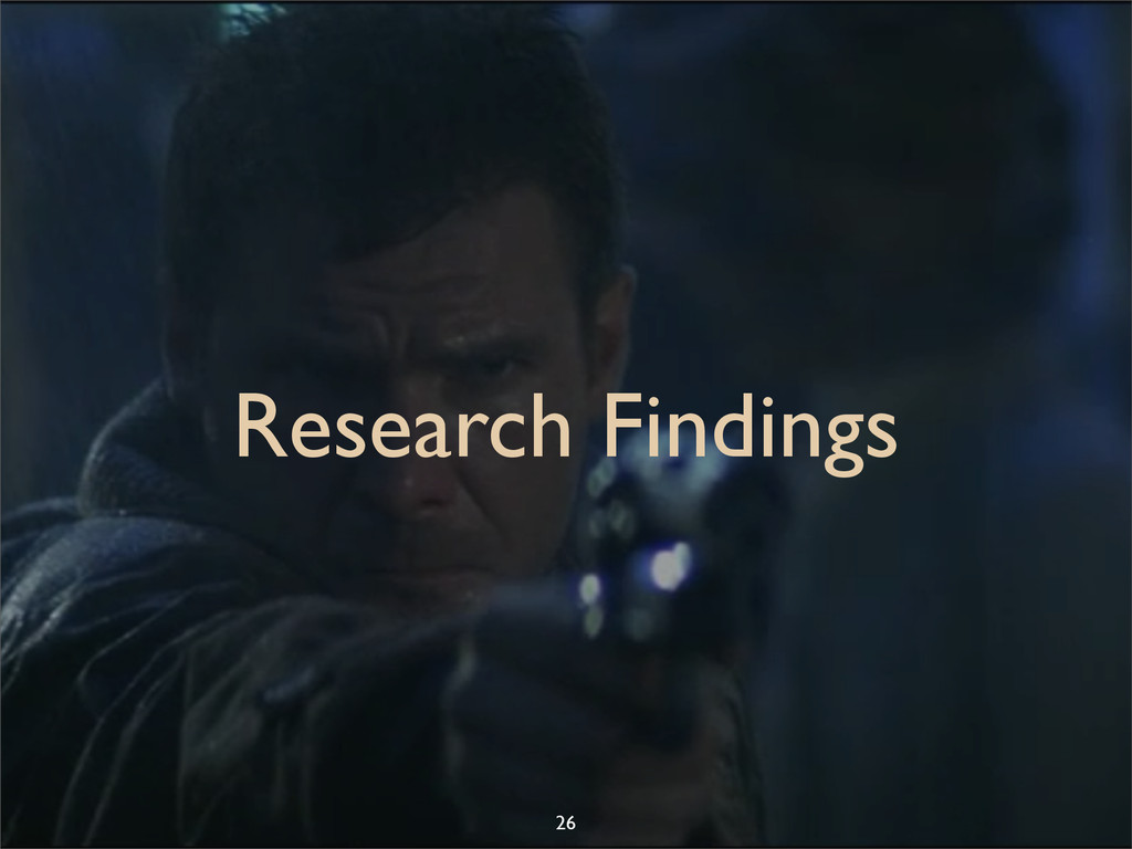 Research Findings 26