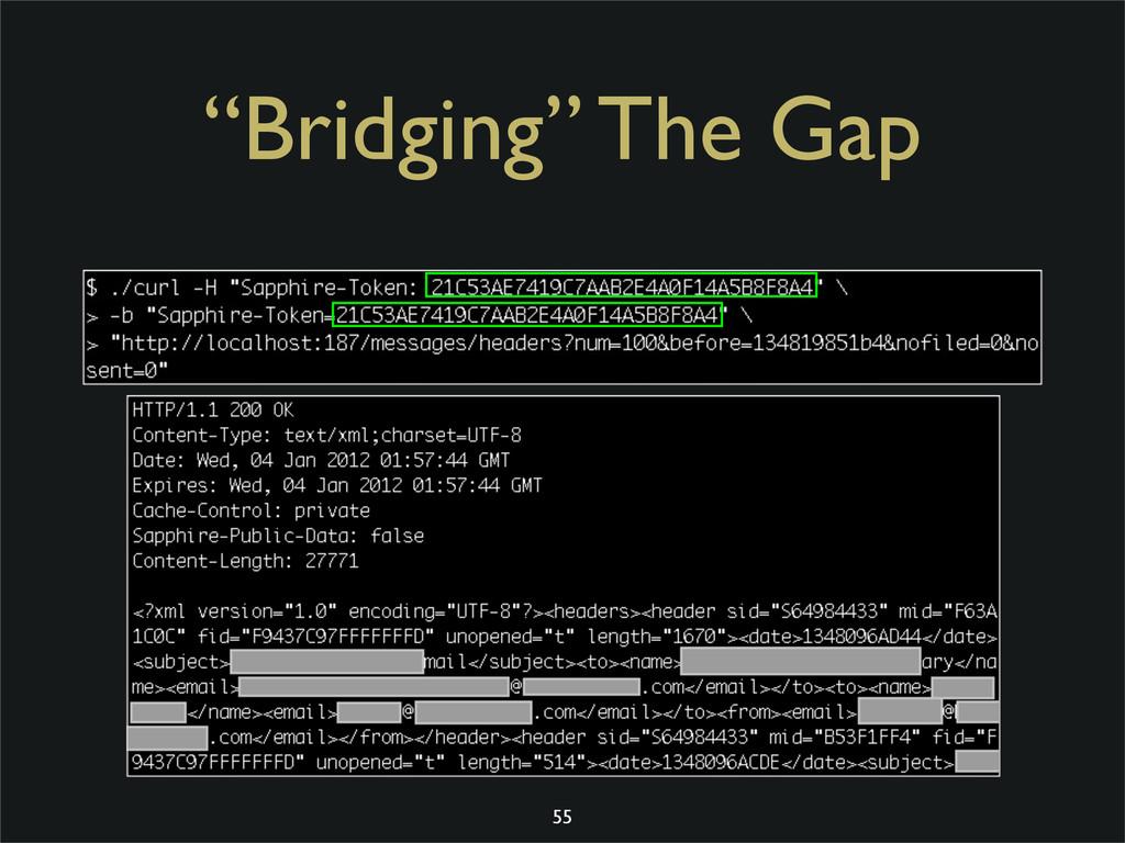 """Bridging"" The Gap 55 CVSS: 3.6 (per RIM)"