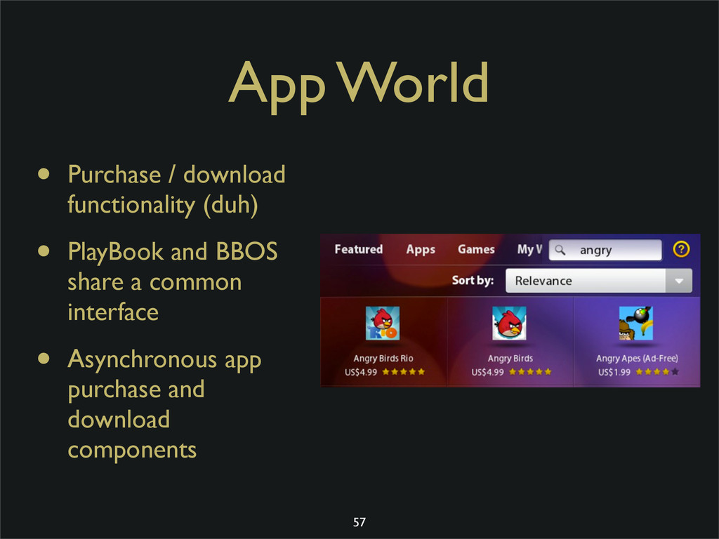 App World • Purchase / download functionality (...