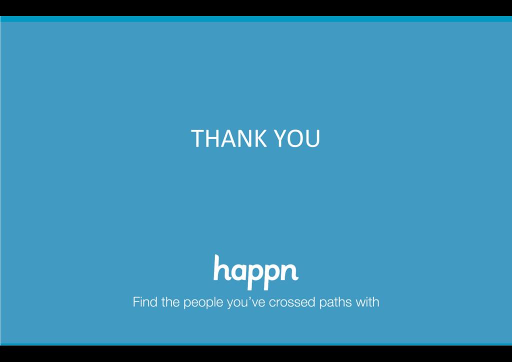 happn confiden+al        THANK ...