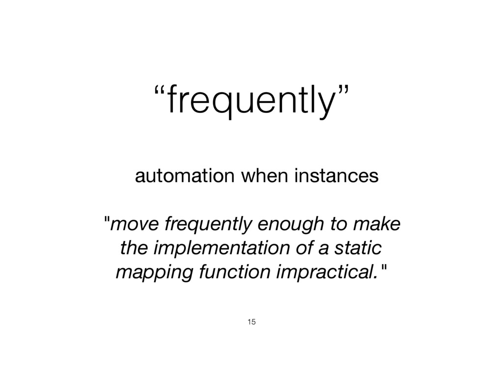 """frequently"" 15 automation when instances   ""mo..."