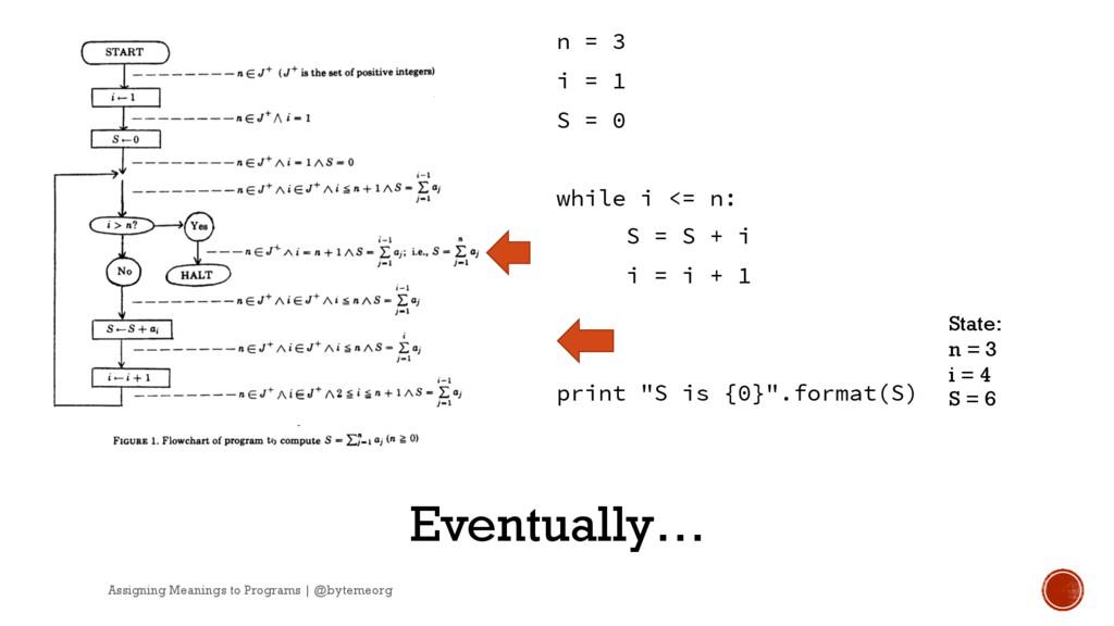 n = 3 i = 1 S = 0 while i <= n: S = S + i i = i...
