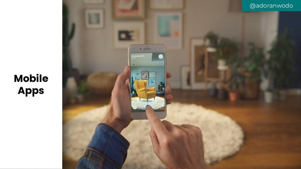 @adoranwodo Mobile Apps