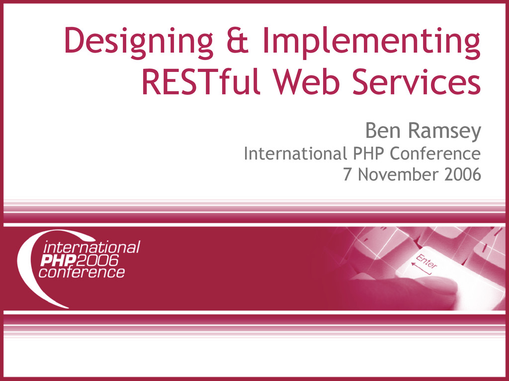 Designing & Implementing RESTful Web Services B...
