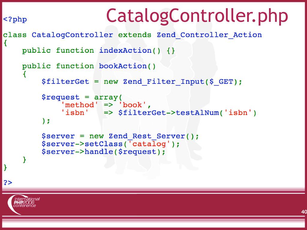 40 CatalogController.php