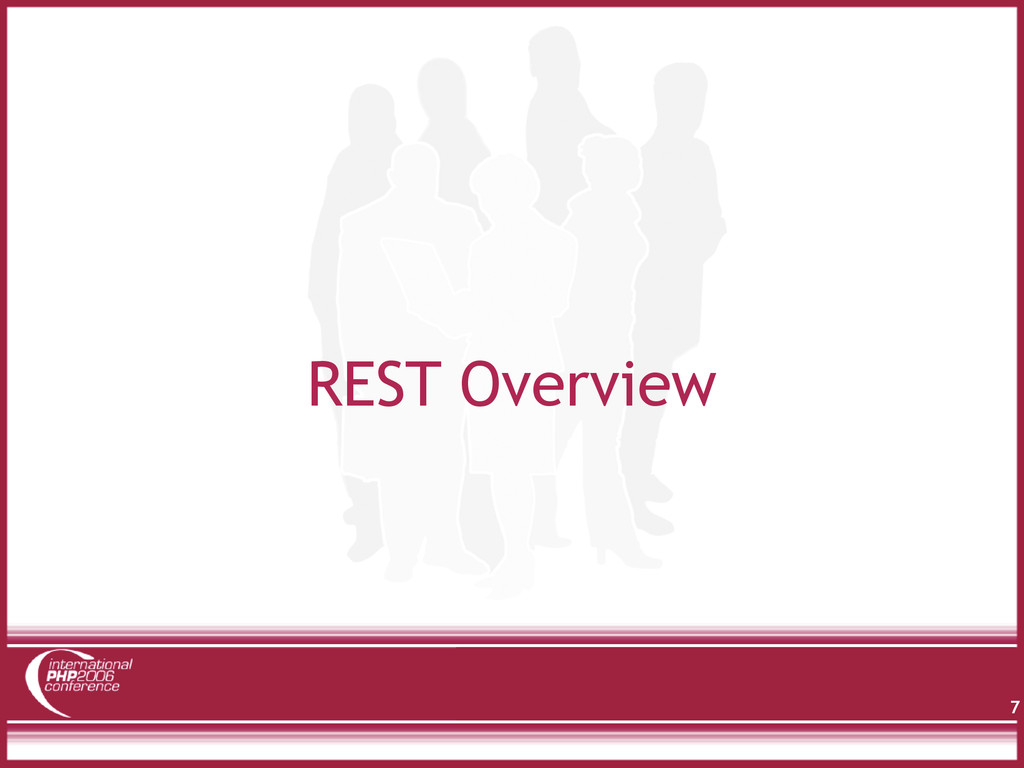 REST Overview 7