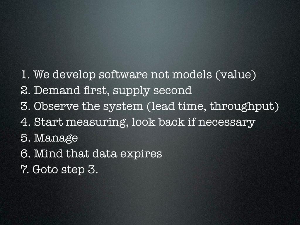 1. We develop software not models (value) 2. De...