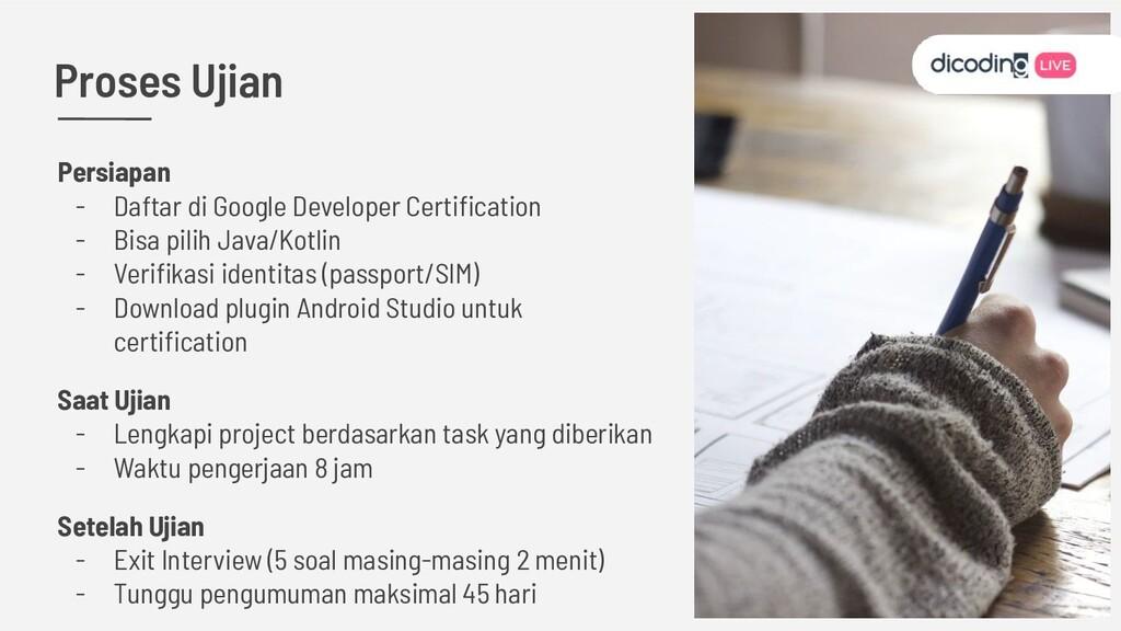 Persiapan - Daftar di Google Developer Certifica...