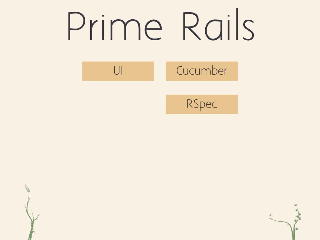 ri xc Prime Rails RSpec UI Cucumber