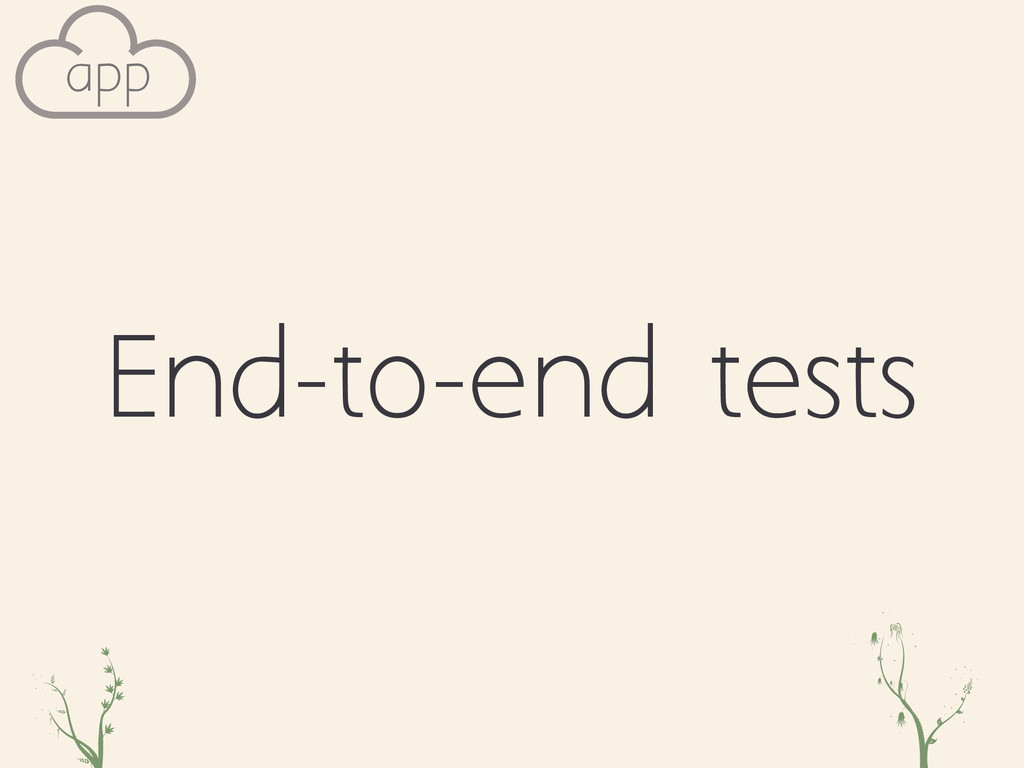 End-to-end tests zoc qwe app