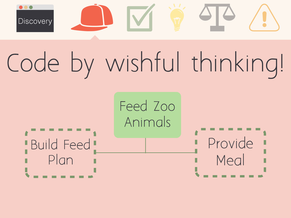 Discovery Build Feed Plan Provide Meal Feed Zoo...