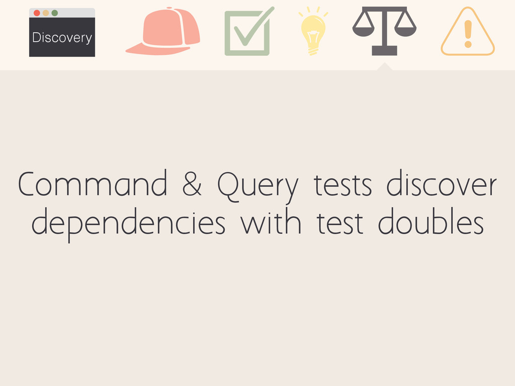 Command & Query tests discover dependencies wit...