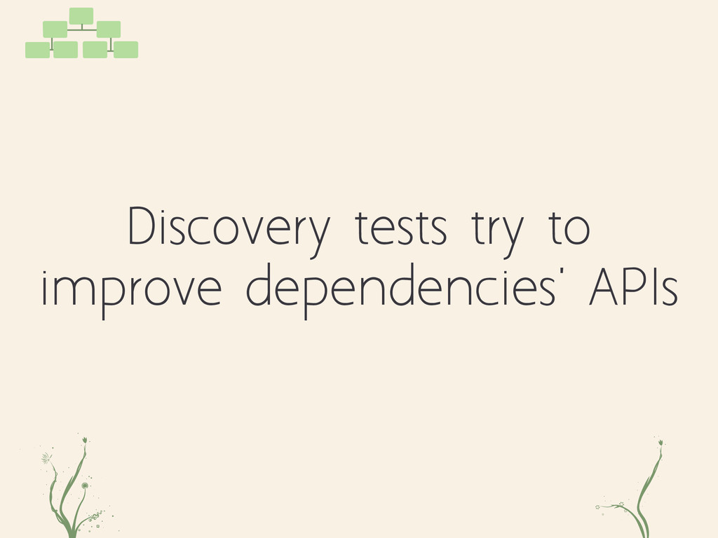 kdasd fk Discovery tests try to improve depende...