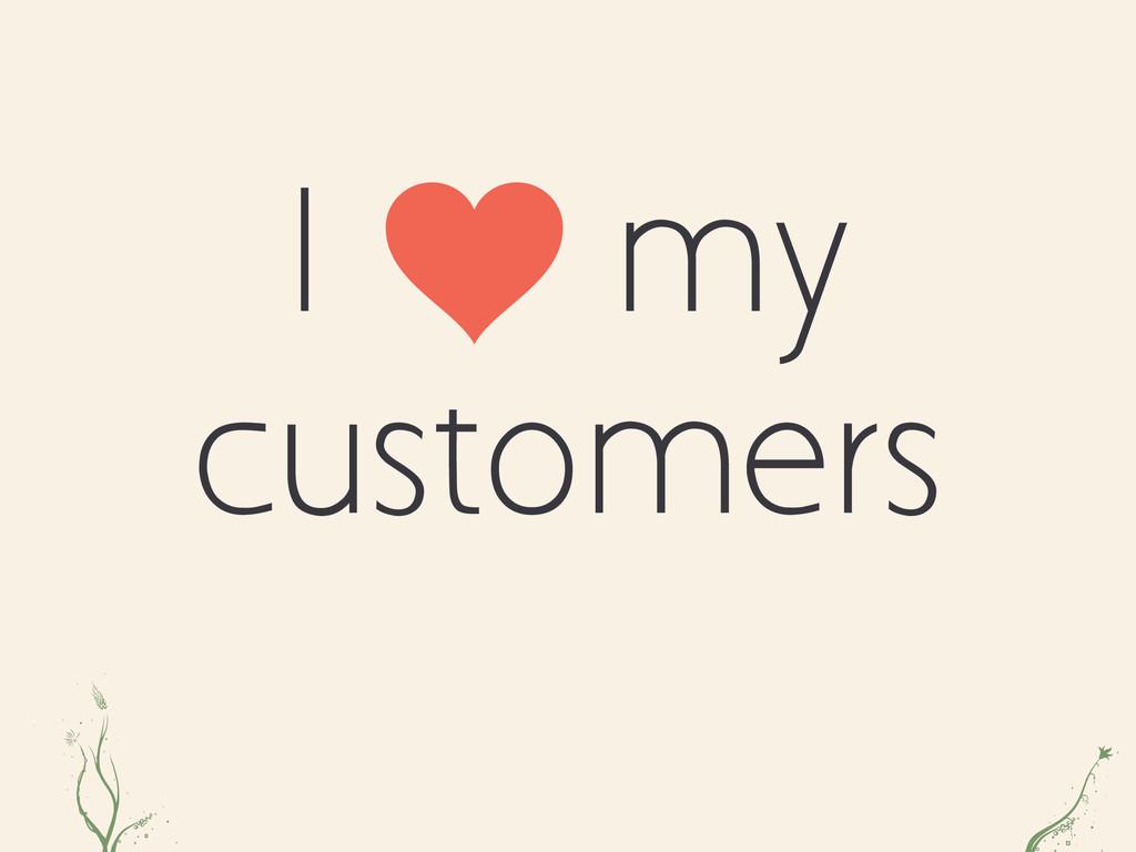 I my customers ias al