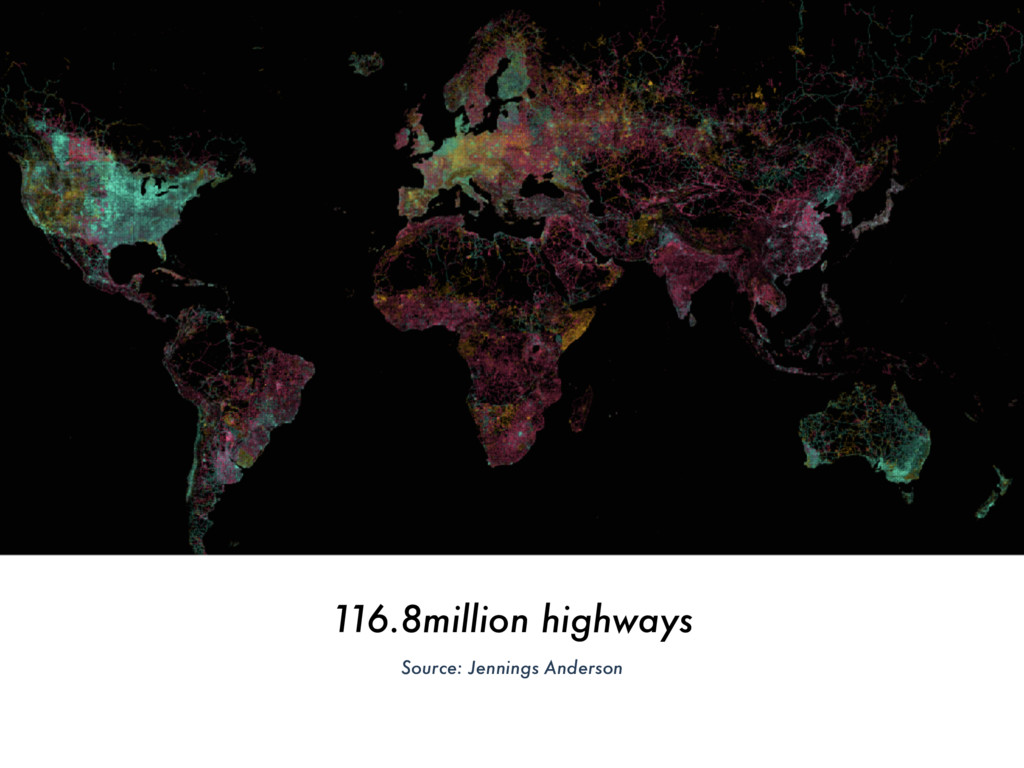116.8million highways Source: Jennings Anderson
